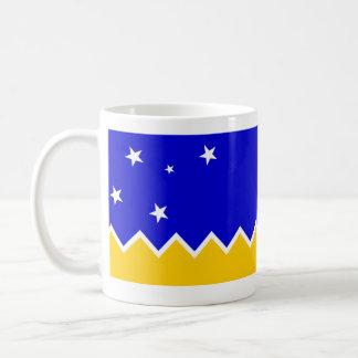 Magallanes、チリ、チリ コーヒーマグカップ