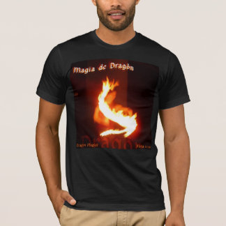 Magia de Dragonの~のドラゴンのマジックのFireplayのデザイン Tシャツ