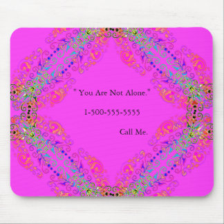 Magical-love-TEMPLATE_Not-Alone-Comfort (c)の電話 マウスパッド
