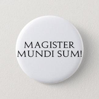 Magister Mundiの合計! ボタン 5.7cm 丸型バッジ