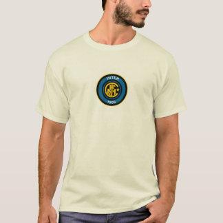 magliettaのbiancaのstemmaの内側のinternazionale tシャツ