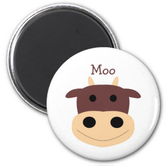 magnentかわいく小さい茶色牛 マグネット