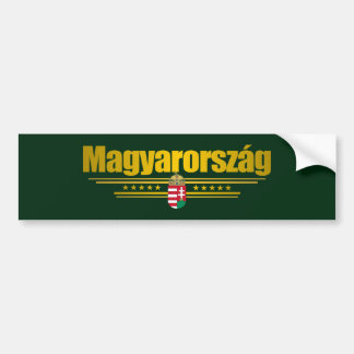 Magyarorszag (ハンガリー) バンパーステッカー