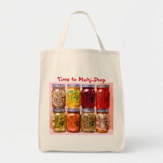 Mah Jongの買い物袋 トートバッグ