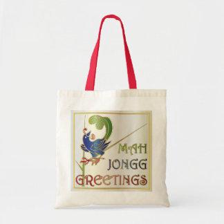 Mah Jonggのクリスマス1つのBamのバッグ トートバッグ