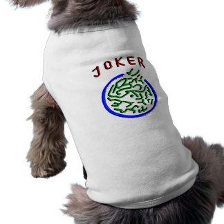 Mah Jonggのジョーカーの小犬の上 ペット服