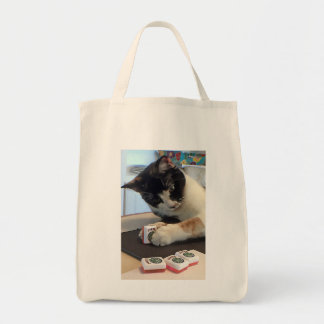 Mah Jonggのジョーカー猫のトートバック トートバッグ
