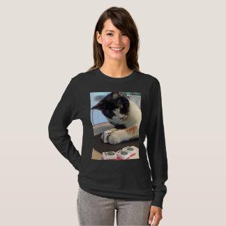 Mah Jonggのジョーカー猫のワイシャツ Tシャツ
