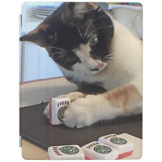 Mah Jonggのジョーカー猫カバー iPadスマートカバー