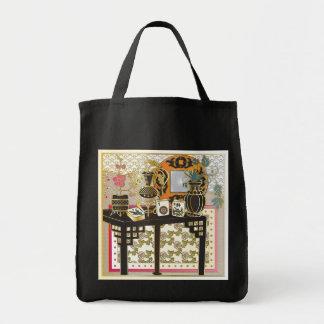 Mah Jonggのテーブル トートバッグ