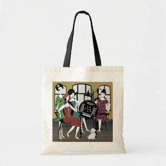 Mah Jonggのフラッパー犬のバッグ トートバッグ