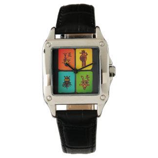 Mah Jonggのヴィンテージタイルの腕時計 腕時計