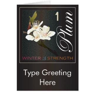 Mah Jonggの冬 カード