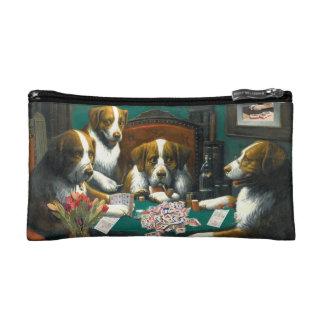 Mah Jonggの化粧品のバッグを遊んでいる犬 コスメティックバッグ