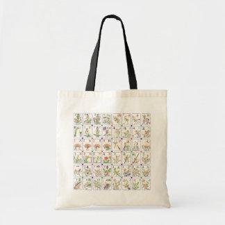 Mah Jonggの名誉のタイルのバッグ トートバッグ