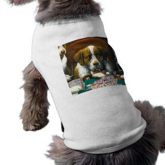 Mah Jonggの小犬Tを遊んでいる犬 ペット服