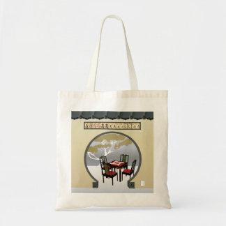 Mah Jonggの庭のバッグ トートバッグ