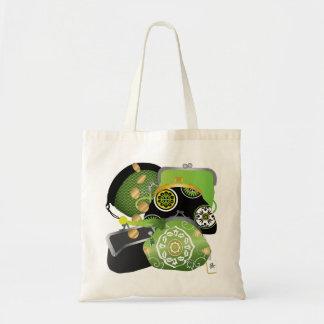 Mah Jonggの硬貨の財布のバッグ トートバッグ