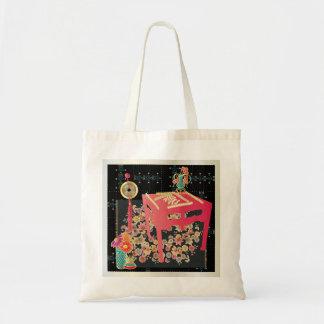 Mah Jonggの赤のテーブル トートバッグ