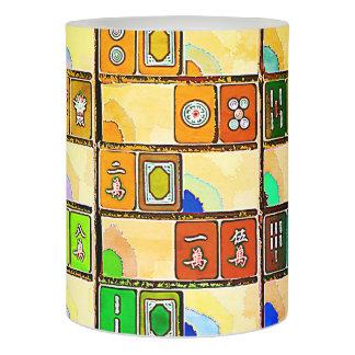 Mah Jonggの黄色いタイルLEDの蝋燭 LEDキャンドル