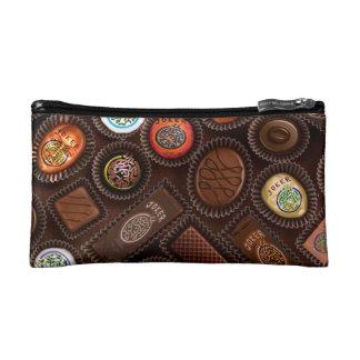 Mah Jonggチョコレート小さい化粧品のバッグ コスメティックバッグ
