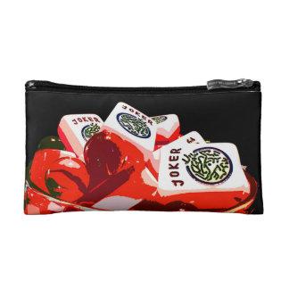 Mah Jongg Jelloのジョーカーの小さい化粧品のバッグ コスメティックバッグ