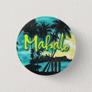 Mahaloの日没Pin 缶バッジ