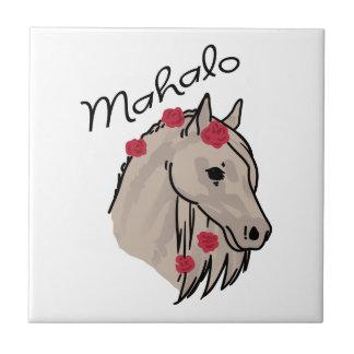 Mahaloの馬 タイル