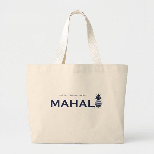 MAHALO bag ラージトートバッグ