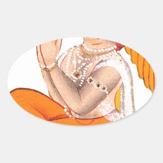 Maharana Jagai Singh II 楕円形シール