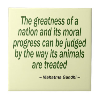 Mahatma Gandhiの引用文 タイル