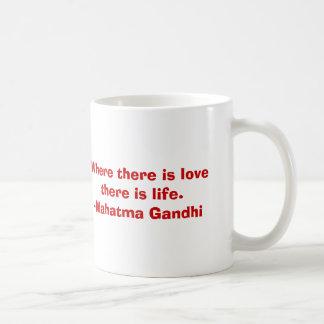 Mahatma Gandhi コーヒーマグカップ