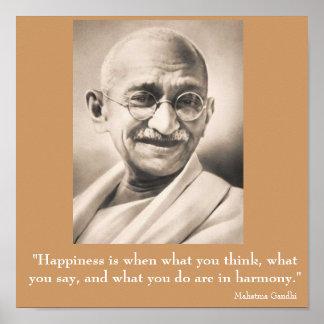 Mahatma Gandhi ポスター