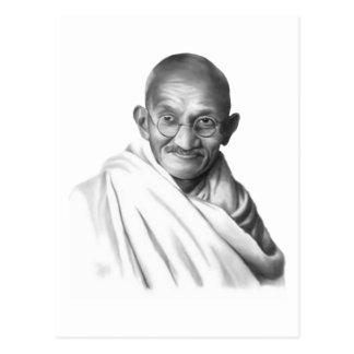 Mahatma Gandhi ポストカード