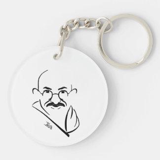 Mahatma Gandhi Keychain キーホルダー