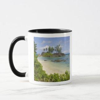 Maheの島の沿岸意見 マグカップ