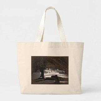 Mahenoの大破 ラージトートバッグ