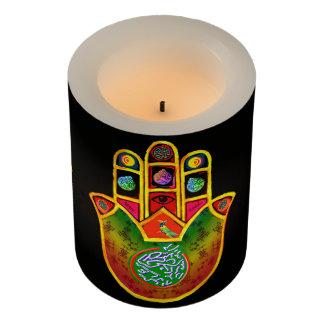 Mahj-Hamsaの蝋燭 LEDキャンドル