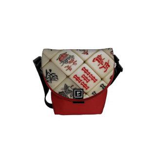 Mahjongのタイル クーリエバッグ