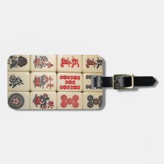 Mahjongのタイル ラゲッジタグ