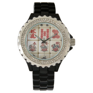 Mahjongのタイル 腕時計