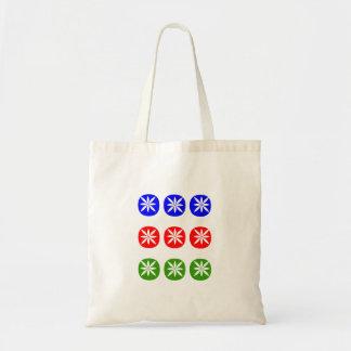 mahjongの専門家プレーヤーのトートバック9は点の点を一周します トートバッグ