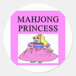 MAHJONGの王女 ラウンドシール