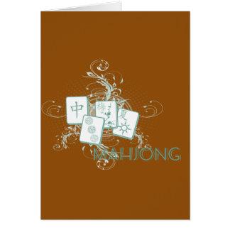 mahjongの青 カード