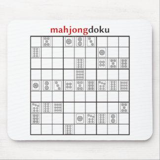 mahjongdokuの円 マウスパッド