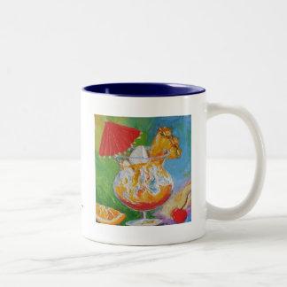 Mai Tai及びパイナップルカクテル ツートーンマグカップ