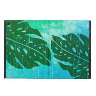 MaikaiハワイのMonsteraの葉の絞り染めのブレンド