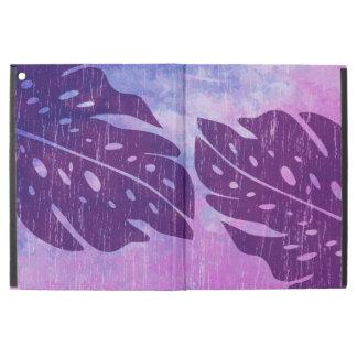 """MaikaiハワイのMonsteraの葉の絞り染めのブレンド iPad Pro 12.9"""" ケース"""