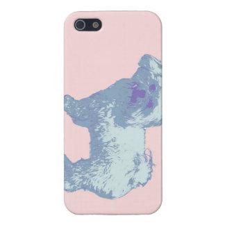 Maime柔らかい雑種犬 iPhone 5 カバー