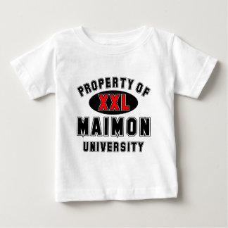 Maimon大学の特性 ベビーTシャツ
